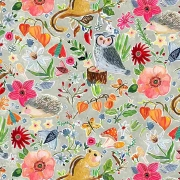 Forest Life by August Wren for Dear Stella Fabrics sold by Online Canadian Fabric Store Woven Modern Fabric Gallery