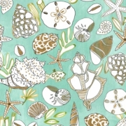 Shells by August Wren for Dear Stella Fabrics sold by Online Canadian Fabric Store Woven Modern Fabric Gallery