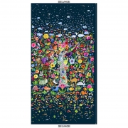 Tree of Life Panel fabric from Dear Stella  Fabrics sold by Online Canadian Fabric Store Woven Modern Fabric Gallery
