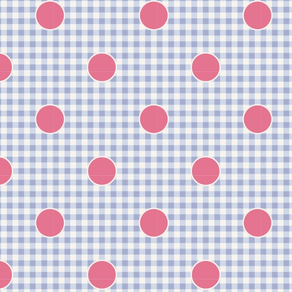 Gingdot  Blue  by Tilda sold by Online Canadian Fabric Store Woven Modern Fabric Gallery