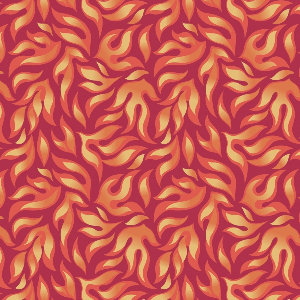 Flames by Lewis & Irene sold by Online Canadian Fabric Store Woven Modern Fabric Gallery