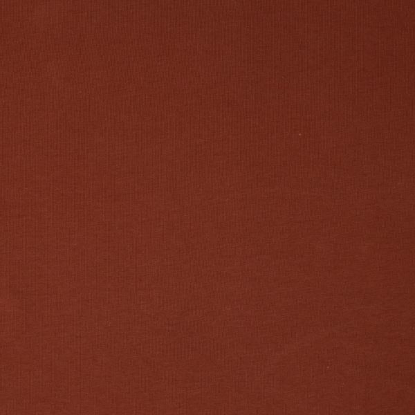 Organic jersey knit fabric in Brick sold by Online Canadian Fabric Store Woven Modern Fabric Gallery