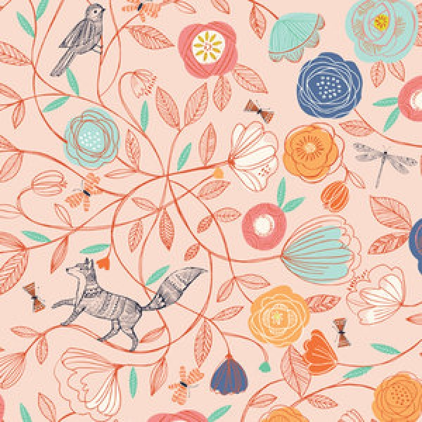 Foxy Meadow from Dashwood Studios sold by Online Canadian Fabric Store Woven Modern Fabric Gallery