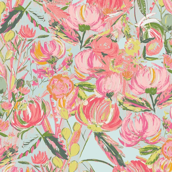 Painted Desert  from Fusion Printemps, Art Gallery Fabrics sold by Online Canadian Fabric Store Woven Modern Fabric Gallery
