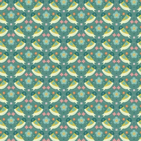 Tweet Tweet from Dashwood Studios sold by Online Canadian Fabric Store Woven Modern Fabric Gallery