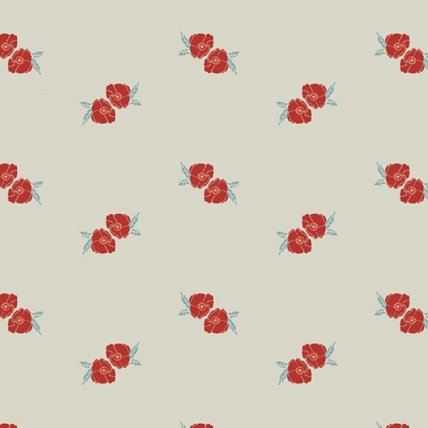 Flower Stamp Charm Art Gallery Fabrics sold by Online Canadian Fabric Store Woven Modern Fabric Gallery