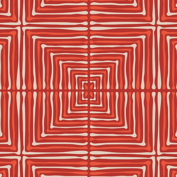 Darling Echos Red Art Gallery Fabrics sold by Online Canadian Fabric Store Woven Modern Fabric Gallery