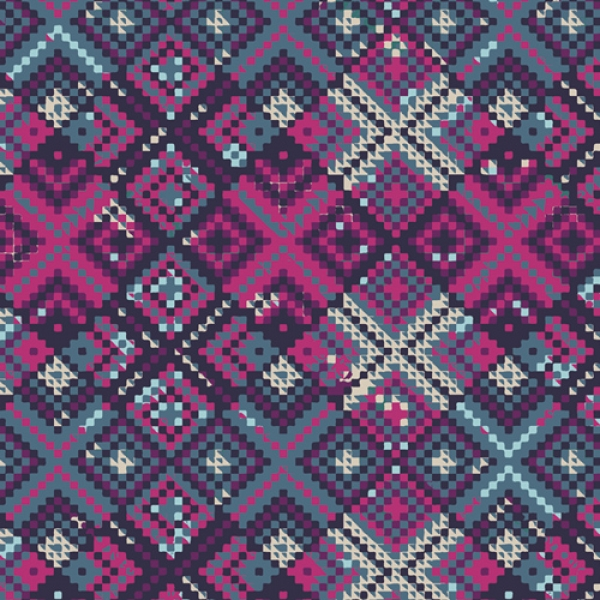 Refractions Violet by Maureen Cracknell for Art Gallery Fabrics sold by Online Canadian Fabric Store Woven Modern Fabric Gallery