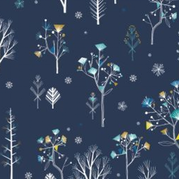 Ice Forest from the Norland collection sold by Online Canadian Fabric Store Woven Modern Fabric Gallery