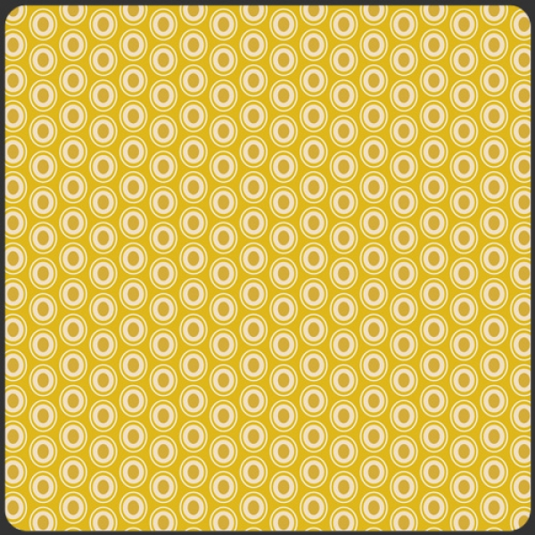 Oval Elements Golden Art Gallery Fabrics sold by Online Canadian Fabric Store Woven Modern Fabric Gallery