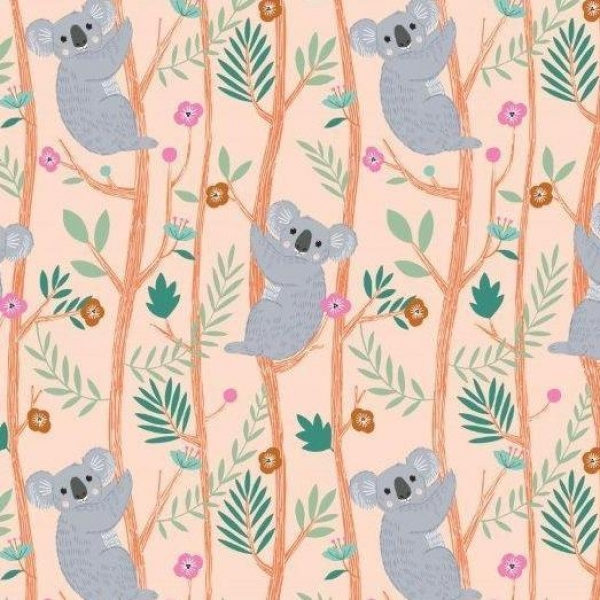 Our Planet Koala fabric from Dashwood Studios  sold by Online Canadian Fabric Store Woven Modern Fabric Gallery