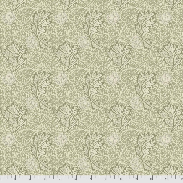 Apple green fabric by Morris & Co sold by Online Canadian Fabric Store Woven Modern Fabric Gallery