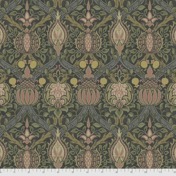Granada charcoal fabric by Morris & Co sold by Online Canadian Fabric Store Woven Modern Fabric Gallery