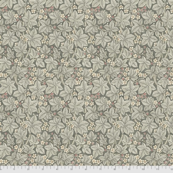 Bramble charcoal fabric by Morris & Co sold by Online Canadian Fabric Store Woven Modern Fabric Gallery