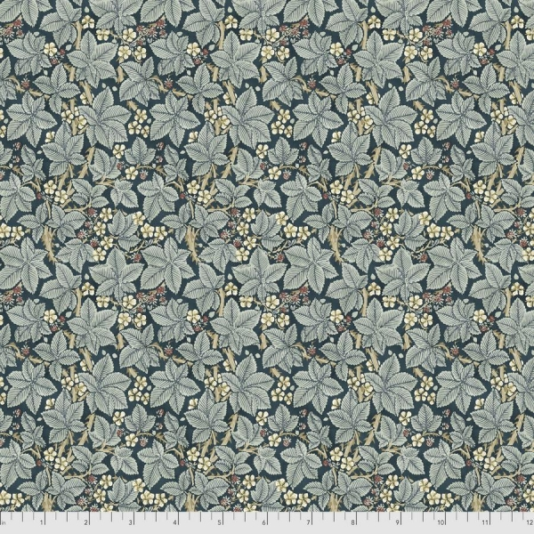 Bramble indigol fabric by Morris & Co sold by Online Canadian Fabric Store Woven Modern Fabric Gallery