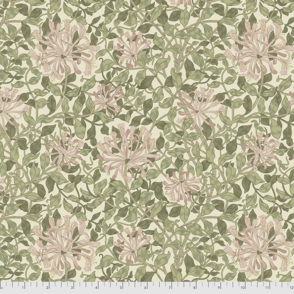 Honeysuckle green fabric by Morris & Co sold by Online Canadian Fabric Store Woven Modern Fabric Gallery