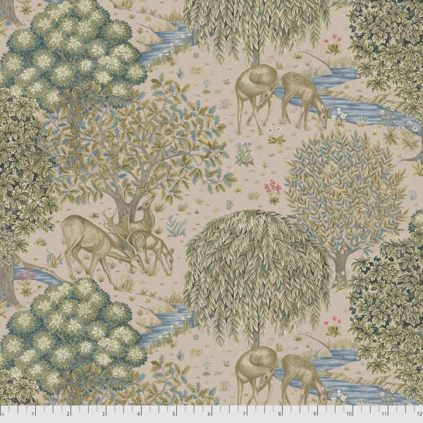 The Brook blush fabric by Morris & Co sold by Online Canadian Fabric Store Woven Modern Fabric Gallery