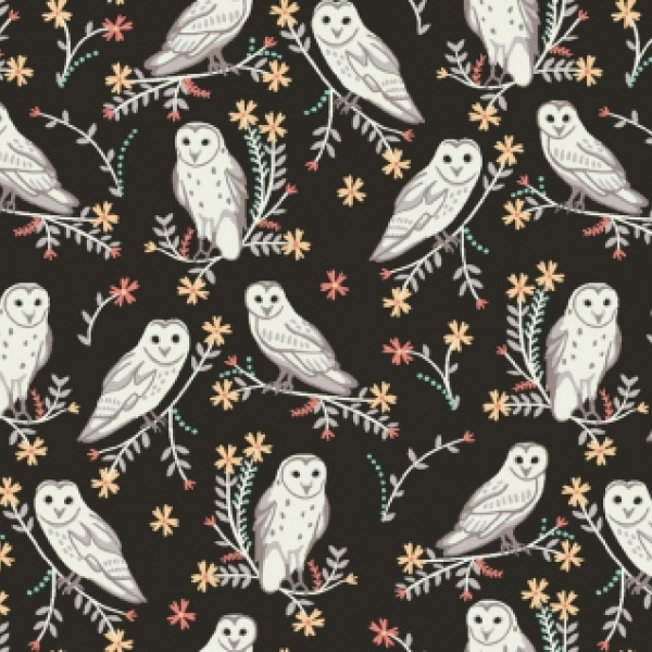 Owls by Dear Stella sold by Online Canadian Fabric Store Woven Modern Fabric Gallery