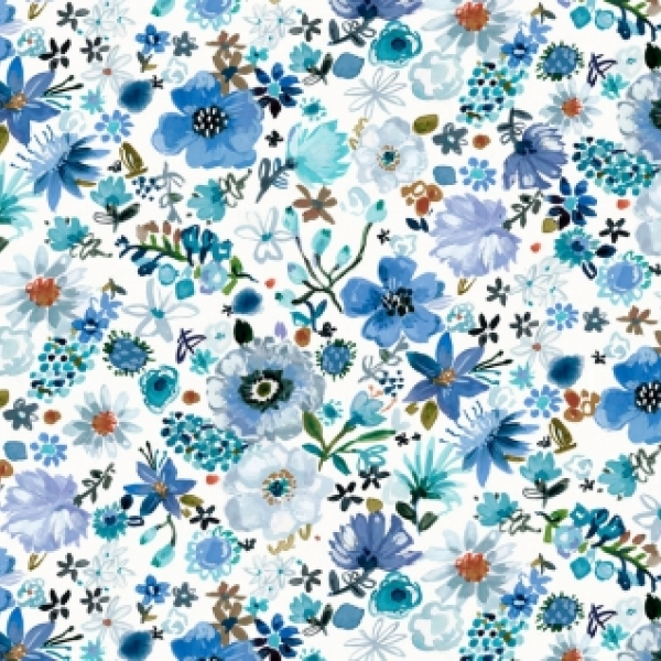 Cool Garden by August Wren for Dear Stella Fabrics  sold by Online Canadian Fabric Store Woven Modern Fabric Gallery