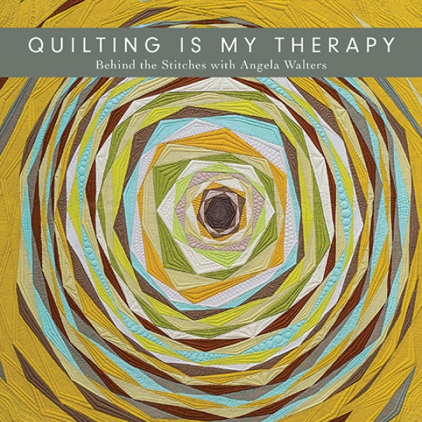 Quilting is my Therapy by Angela Walters sold by Online Canadian Fabric Store Woven Modern Fabric Gallery
