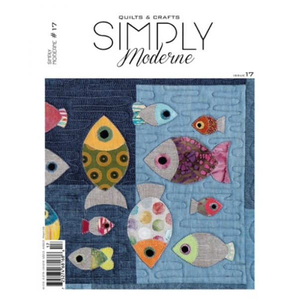 Simply Modern magazine for sale at Canadian online fabric store Woven Modern Fabric Gallery