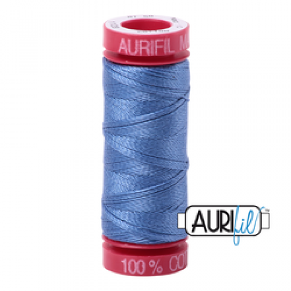 Aurifil Thread Light Blue Violet 1128 12 wt sold by Online Canadian Fabric Store Woven Modern Fabric Gallery
