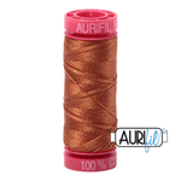 Aurifil Thread Cinnamon 2155 12 wt sold by Online Canadian Fabric Store Woven Modern Fabric Gallery