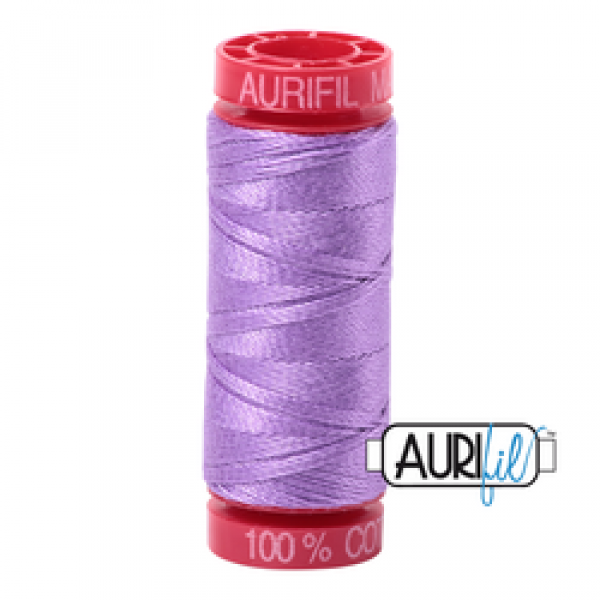 Aurifil Thread 12wt Violet 2520 sold by Online Canadian Fabric Store Woven Modern Fabric Gallery