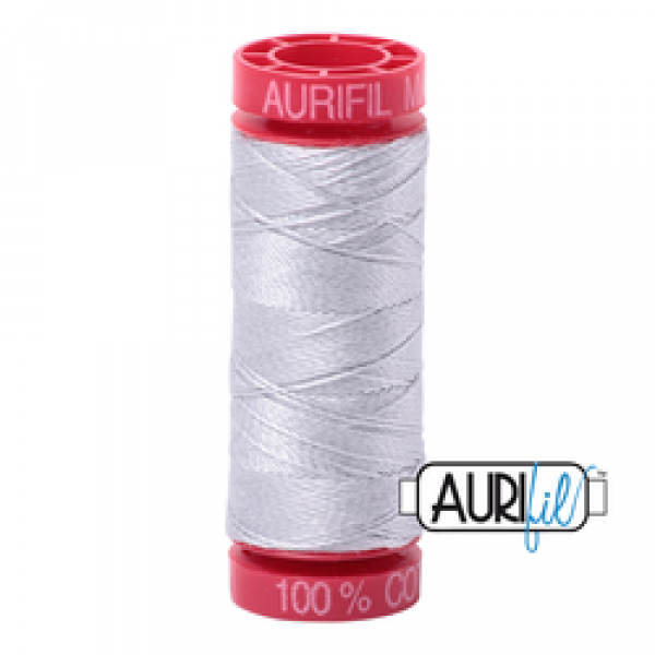 Aurifil Thread 12wt  Dove 2600 sold by Online Canadian Fabric Store Woven Modern Fabric Gallery