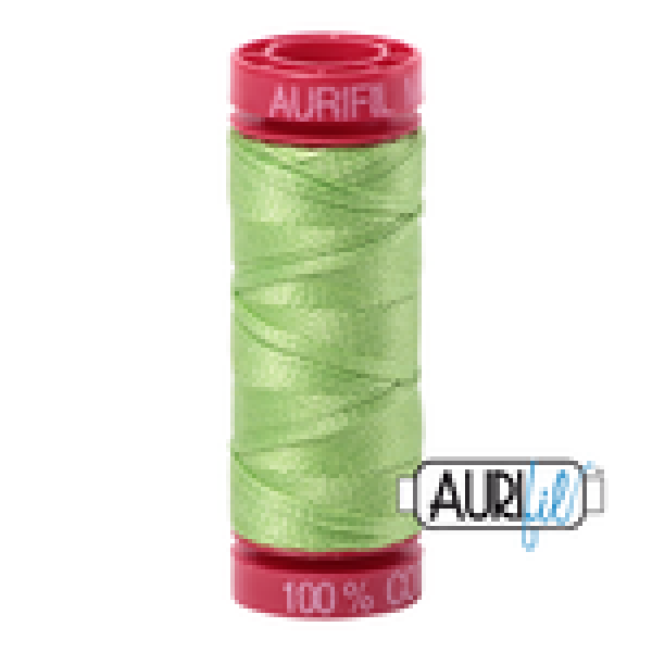 Aurifil Thread Shinning Green 5017 12 wt sold by Online Canadian Fabric Store Woven Modern Fabric Gallery