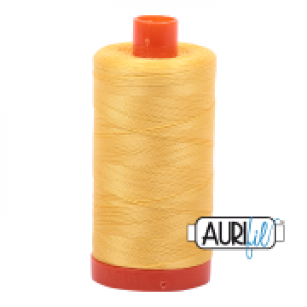 Aurifil Thread Pale Yellow 1135 50wt sold by Online Canadian Fabric Store Woven Modern Fabric Gallery