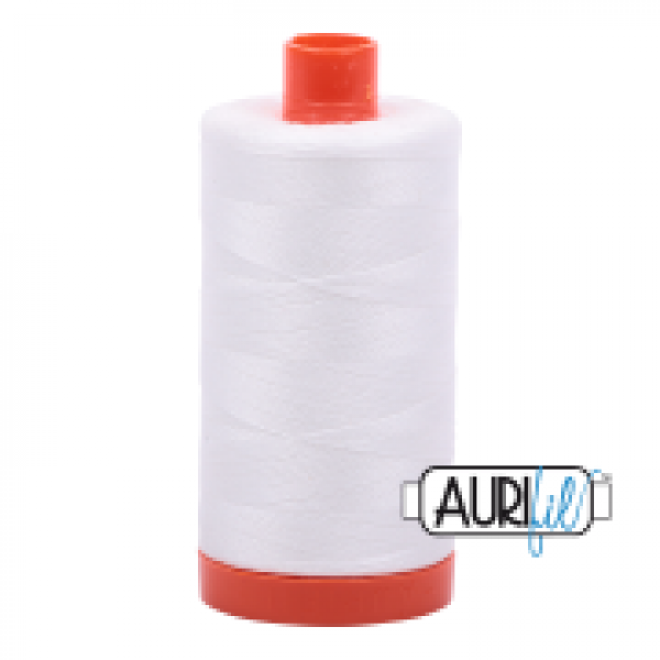 Aurifil Thread Natural White 2021 sold by Online Canadian Fabric Store Woven Modern Fabric Gallery