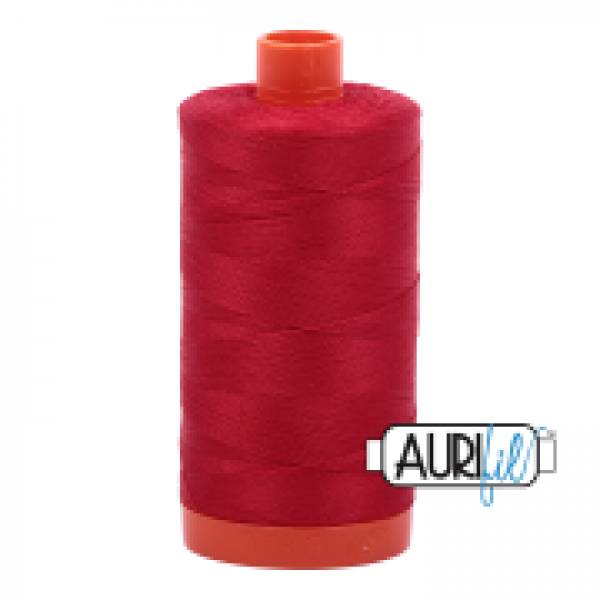 Aurfil Thread Red sold by Online Canadian Fabric Store Woven Modern Fabric Gallery