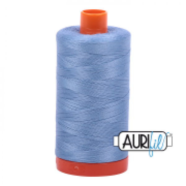 Aurifil Thread Light Delft Blue 2720 50 wt sold by Online Canadian Fabric Store Woven Modern Fabric Gallery