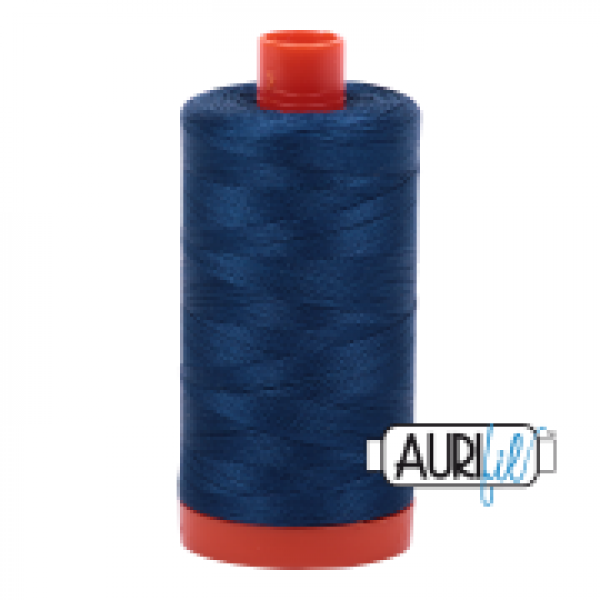 Aurifil Thread Delft Blue 2783 sold by Online Canadian Fabric Store Woven Modern Fabric Gallery