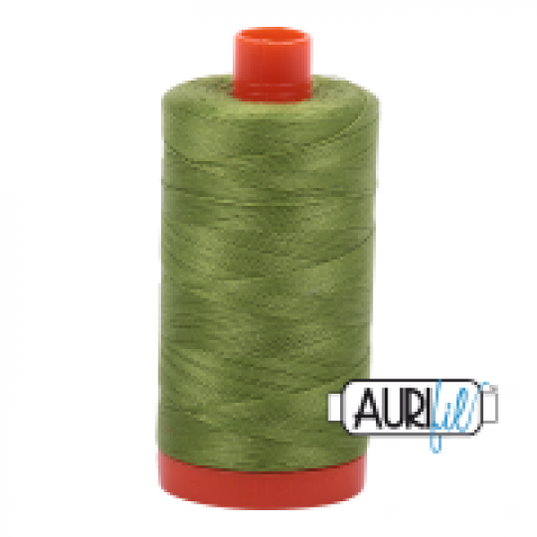Aurifil Thread Fern Green 2888 50 wt sold by Online Canadian Fabric Store Woven Modern Fabric Gallery