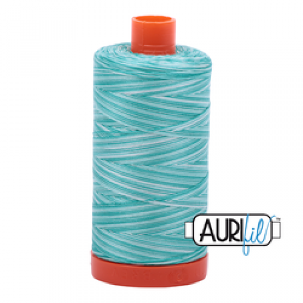 Aurifil Thread Turquoise Foam 4654 sold by Online Canadian Fabric Store Woven Modern Fabric Gallery