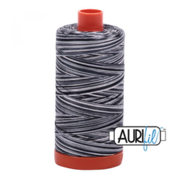 Aurifil Thread Graphite 4665 sold by Online Canadian Fabric Store Woven Modern Fabric Gallery