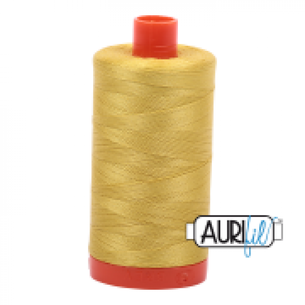 Aurifil Thread Gold Yellow sold by Online Canadian Fabric Store Woven Modern Fabric Gallery