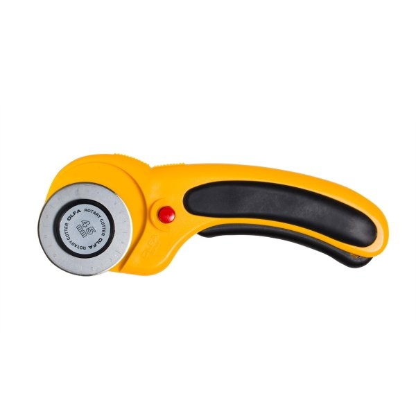 Olfa Rotary Cutter 45mm sold by Online Canadian Fabric Store Woven Modern Fabric Gallery