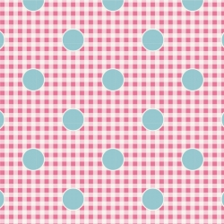 Gingdot Rose by Tilda sold by Online Canadian Fabric Store Woven Modern Fabric Gallery