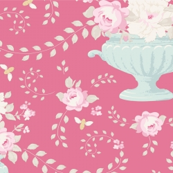 Flowerbees Rose by Tilda sold by Online Canadian Fabric Store Woven Modern Fabric Gallery