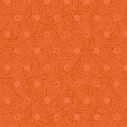 Sun Print Carrot sold by Online Canadian Fabric Store Woven Modern Fabric Gallery