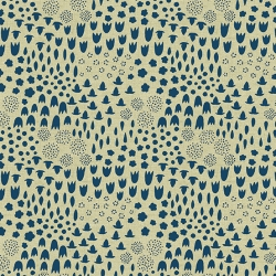 Cerulean Tailored Cloth by Andover Sarah Golden sold by Online Canadian Fabric Store Woven Modern Fabric Gallery