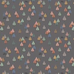 Wilderness by Lewis & Irene sold by Online Canadian Fabric Store Woven Modern Fabric Gallery