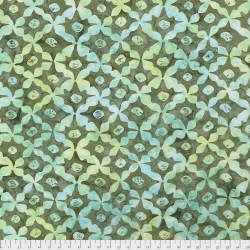 Stars Sage from Artisan by Kaffe Fassett sold by Online Canadian Fabric Store Woven Modern Fabric Gallery
