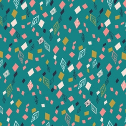 Boho Meadow Diamonds  from Dashwood Studios sold by Online Canadian Fabric Store Woven Modern Fabric Gallery