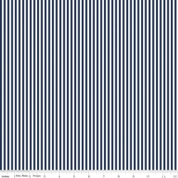 """Stripes 1/8"""" Navy from Riley Blake sold by Online Canadian Fabric Store Woven Modern Fabric Gallery"""