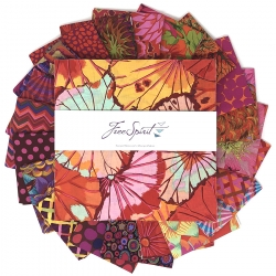 """Equartor 10"""" charm pack by Kaffe Fassett sold by Online Canadian Fabric Store Woven Modern Fabric Gallery"""