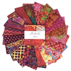 """Equartor 5"""" charm pack by Kaffe Fassett sold by Online Canadian Fabric Store Woven Modern Fabric Gallery"""